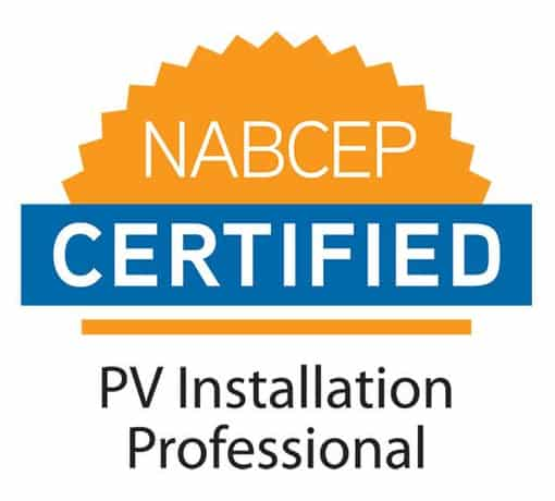nabcep certified pv installation professional north american board of certified energy practitioners